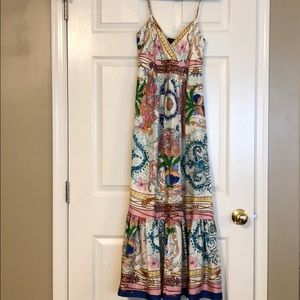 Anthropologie Collette Dinnigan Maxi Dress